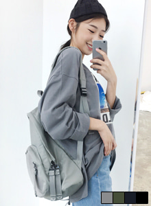 66GIRLSMesh Exterior Pocket Backpack