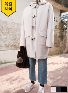 66GIRLSHooded Duffel Coat